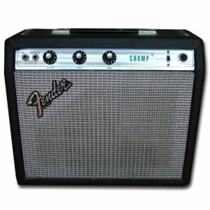 Fender Champ Silverface 5W.