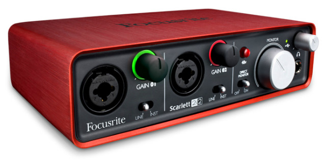 Audio interface Focusrite Scarlett 2i2