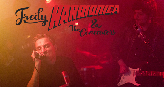 Proyectos-Fredy Harmonica & the Concealers